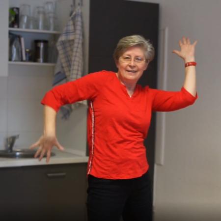 Bürotanz mit Rita Engel